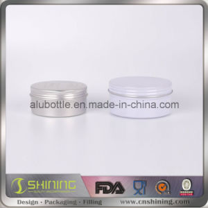 Aluminum Jar for Luxury Shaving Cream