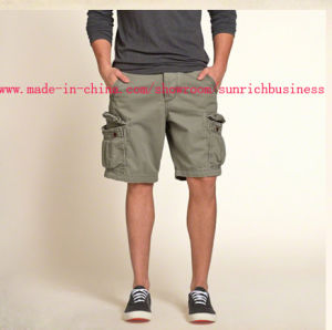 Men′s Cargo Cotton Twill Shorts (S15003) pictures & photos
