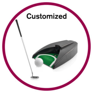 Custom Golfer Putter Gift pictures & photos