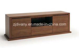 Modern Solid Wood TV Cabinet Wooden Furniture (SM-D28A+B) pictures & photos
