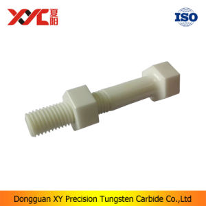 Zirconia Fastener Fitting Parts Ceramic Screw Thread pictures & photos