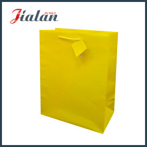 Custom Logo Printed Wholesales Handmade Cheap Paper Bag with Hangtags pictures & photos