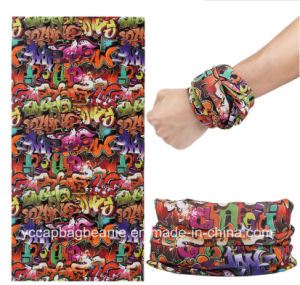 Cheap Polyester Seamless Magic Bandana pictures & photos