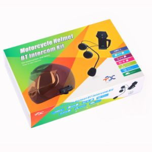 Bt Multi Interphone Fashion Helmet Intercom 1000m Bluetooth 3.0 Motorcycle Helmet Bluetooth Headset Bt803 with NFC Function pictures & photos