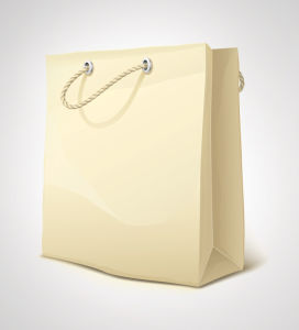 Kraft Paper Food Shopping Bags pictures & photos