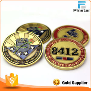High Quality Custom Making Metal Copper Coin pictures & photos