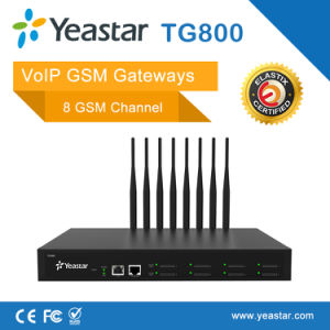 Yeastar 8 GSM Channelsfor SIM Card SMS VoIP GSM Gateway (NeoGate TG800) pictures & photos