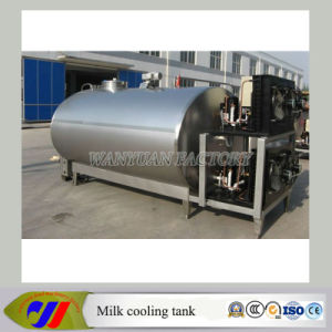 2000L Bulk Milk Cooling Tank Cooling Milk to 4 Degree pictures & photos