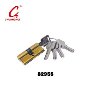 Furniture Hardware Two Side Open Panpal Lock Cylinder pictures & photos