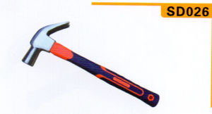 Claw Hammer with Handle of Electronicplatiing Plastic Coating pictures & photos