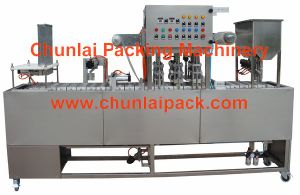 Hot Sale Cup Washing Filling Sealing Machine (GF-4) pictures & photos