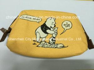 Fashion Canvas Cosmetic Bag or Pencil Bag