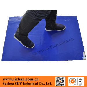 Disposable PE Sticky Blue Mat for Cleanroom pictures & photos