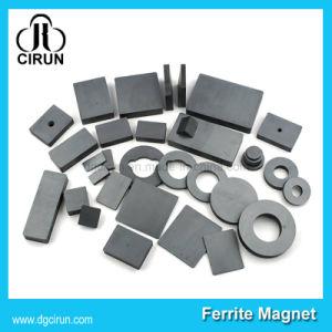 China Black Block Dis Ring Ceramic Ferrite Magnets