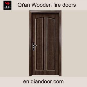 Fire-Resistant Timber Door Insulated Wood Door pictures & photos