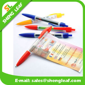 High Quality Banner Custom Logo Pens with Hot Sale (SLF-LG030) pictures & photos