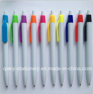 Cheap White Color Promotional Pen (P1046A) pictures & photos