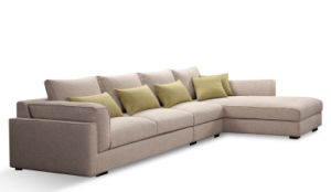 Modern Living Room Furniture 1+2+3 Fabric Sofa Set pictures & photos