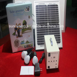 100W Home Solar Lighting System for Indoor and Outdoor Use pictures & photos