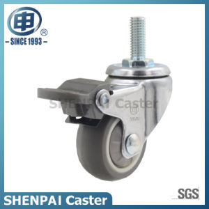 "1""Micro Duty TPR Swivel Caster Wheel pictures & photos"