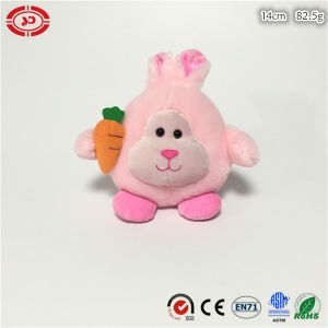 New Design Custom Pink Rabbit Easter Plush Soft CE Toy pictures & photos