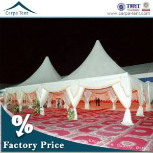 100 People Big Wedding Catering Pagoda Tents with Linings for Sale pictures & photos
