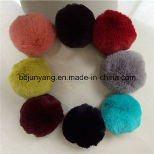 Soft Faux Rabbit Fur Ball for Bag Charm pictures & photos