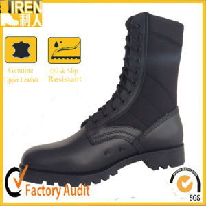 Black Comfortable New Fashion Military Boot Military Jungle Boot pictures & photos