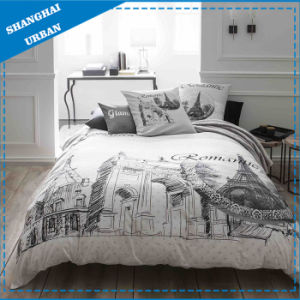 Eiffel Cotton Bedding Duvet Cover (Set) pictures & photos