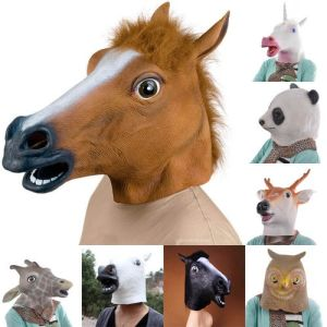 Halloween Head Mask Animal Head Adult Mask Made of Latex Party Mask pictures & photos