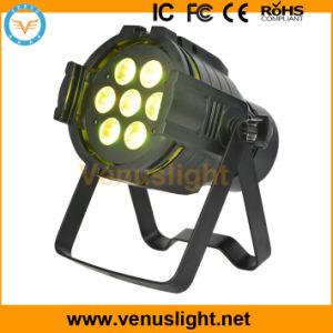 Mini LED PAR Stage Light with 7 PCS 4in1 RGBW LEDs