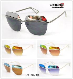 Hot Sale Fashion Metal Sunglasses, CE FDA SGS Km15030 pictures & photos
