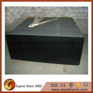 Polished Shanxi Black Granite Tombstone/Flooring Tile pictures & photos