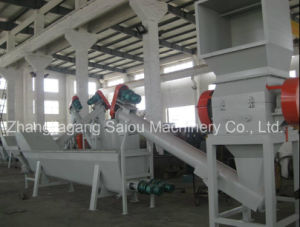 China Manufacture Hot Washed Waste Pet Bottles Recycling Machine pictures & photos