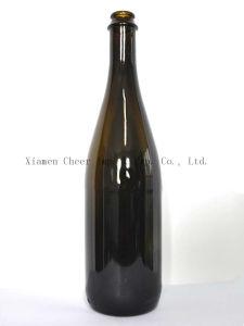750ml Glass Champagne Bottle Flint Color (PT750-C1002) pictures & photos