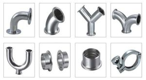 SS304, 316, Polished Sanitary Stainless Steel Welded Food Grade Fittings pictures & photos