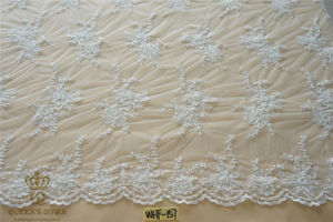 2015 Heavy Hand-Beaded Full-Scale Polyester Lace Bridal Accessories pictures & photos