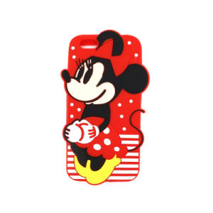 New Coming Silicone 3D Cartoon Animal Phone Case for iPhone