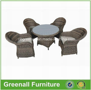 Wicker Round Rattan Patio Outdoor Furniture Dining Table pictures & photos