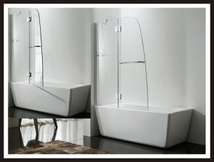 Bathtub Shower Enclosure Bathroom Screen Tempered Glass Shower Door pictures & photos
