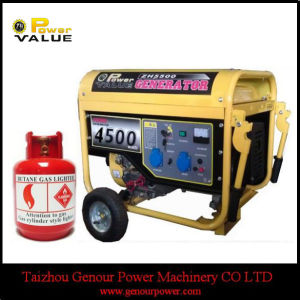 Strong Frame 4kw 4kVA LPG Magnetic Generator for Sale pictures & photos