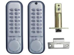 Mechanical Digital Number Combination Keypad Code Keyless Door Lock pictures & photos