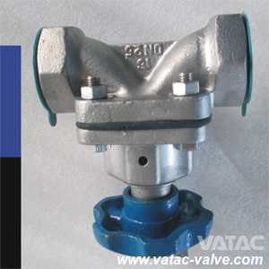 Threaded/NPT/Screwed Gg25 Cast Iron Weir Diaphragm Valve pictures & photos