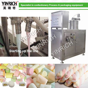 Candy Machine Marshmallow Machine Fully Automatic Extruded Marshmallow Production Line (EM50) pictures & photos