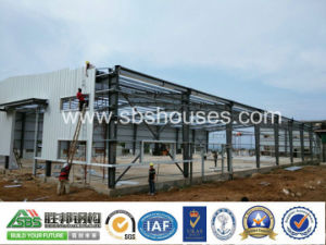 Prefab I Beam/Column Steel Building/Construction Workshop/Warehouse pictures & photos