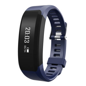 Smart Wristband with Heart Rate Monitoring and Fitness Function pictures & photos