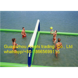Team Game Sport Toys Inflatable Water Volleyball Court/Inflatable Playground pictures & photos
