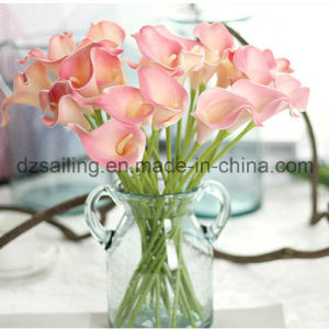Hot Selling PU Calla Artificial Flower (SW01501) pictures & photos
