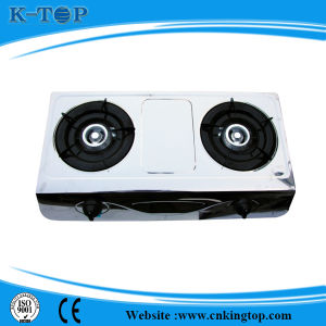 Good Quality 2burner Facility Gas Stove pictures & photos