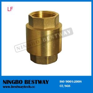 NPT Thread Vertical Type Lead Free Brass Spring Check Valve pictures & photos